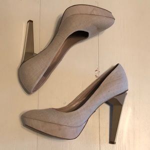 Rachel Roy Carthay linen pumps